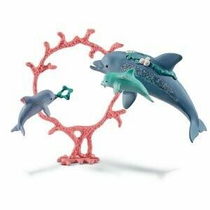 Maman dauphin et ses petits