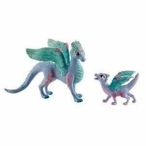 Fleur Dragon et enfant