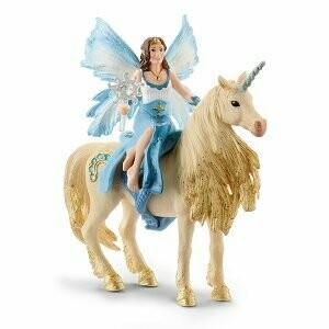 Eyela sur licorne dorée