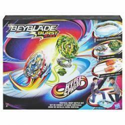 Beyblade arène avec 2 toupies