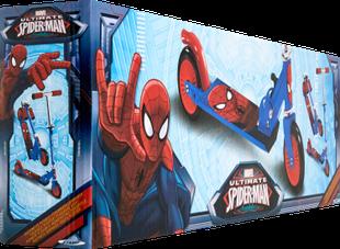 Spiderman trottinette