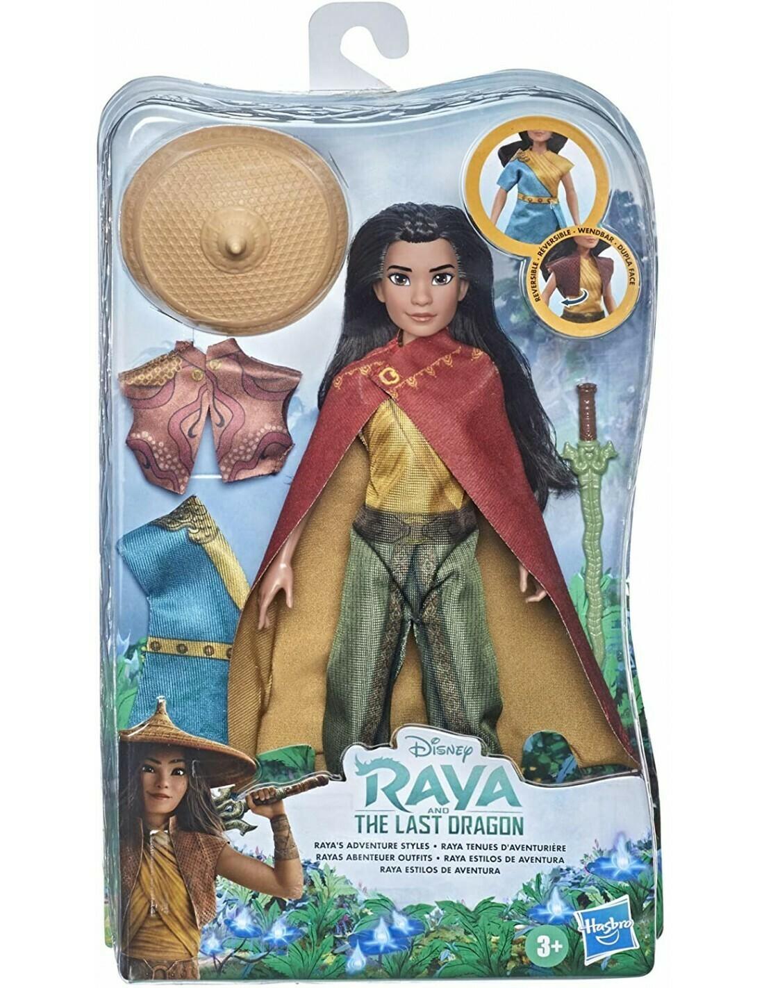 Raya poupée coiffure set