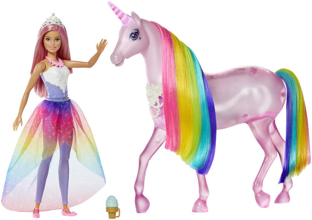 Barbie Licorne Magique Lumineuse