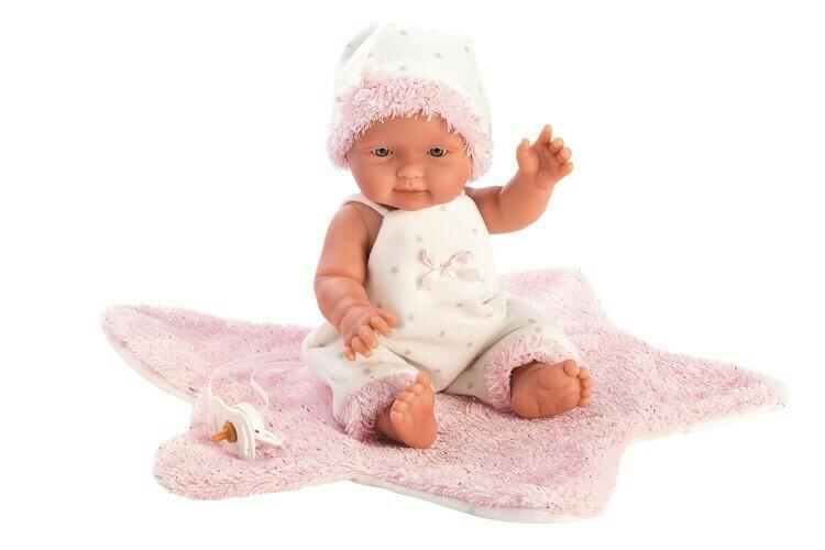 Llorens poupée Bebita étoile rose 26 cm