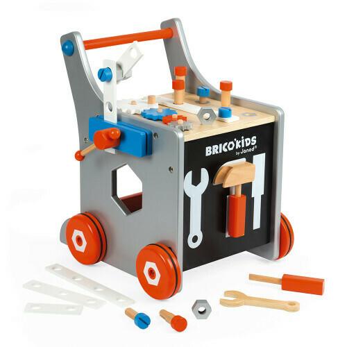 Brico'Kids chariot avec outils 25 pièces en bois Janod