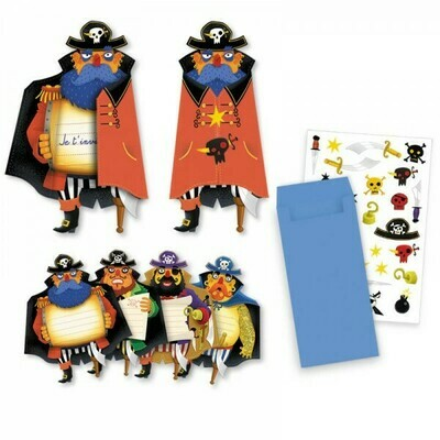 Cartes d'invitation Super Héro 8 pièces