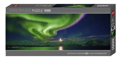 Polar Light Panorama puzzle 1000 pièces
