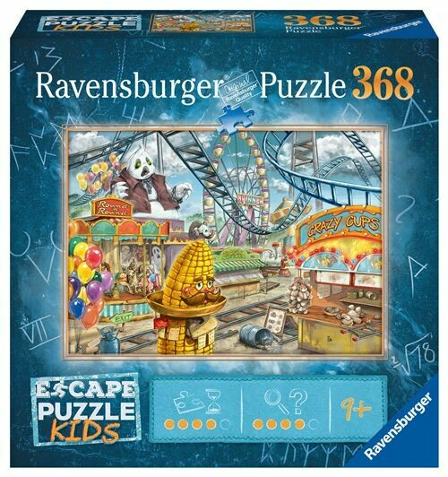 Ravensburger Puzzle Escape Kids 368 pièces Le parc d'attractions