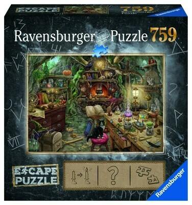 Ravensburger Puzzle Escape 759 pièce La cuisine de sorcières