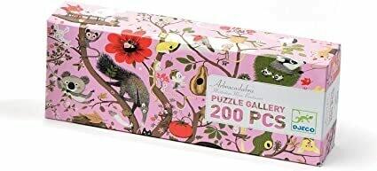 Arbracadabra puzzle Gallery 200 pièces Djeco