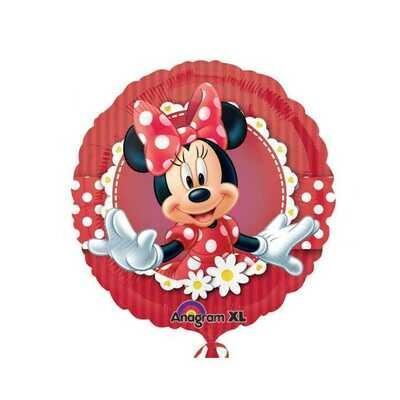Ballon métallique Minnie fleurie