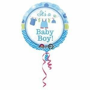 Ballon métallique it's a Boy