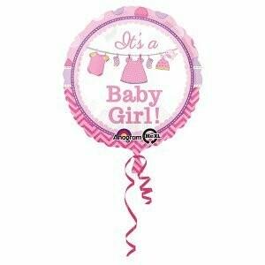 Ballon métallique it's a Girl