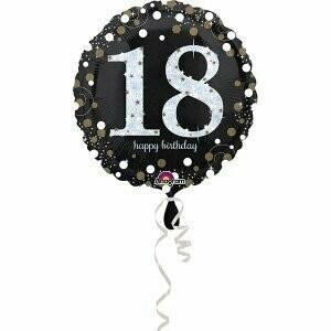 Ballon métallique 18 ans