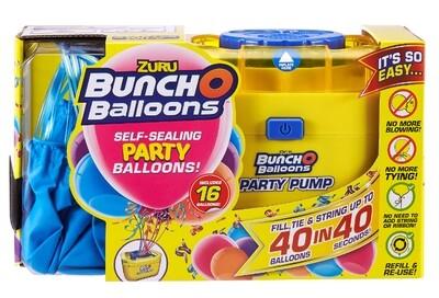 Buncho Balloons Zuru pompe et ballons bleus