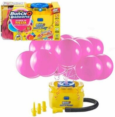 Buncho Balloons Zuru pompe et ballons roses