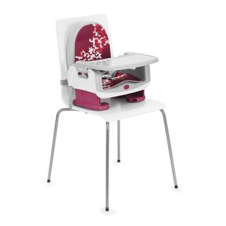 Réhausseur de chaise rouge imprimé Chicco
