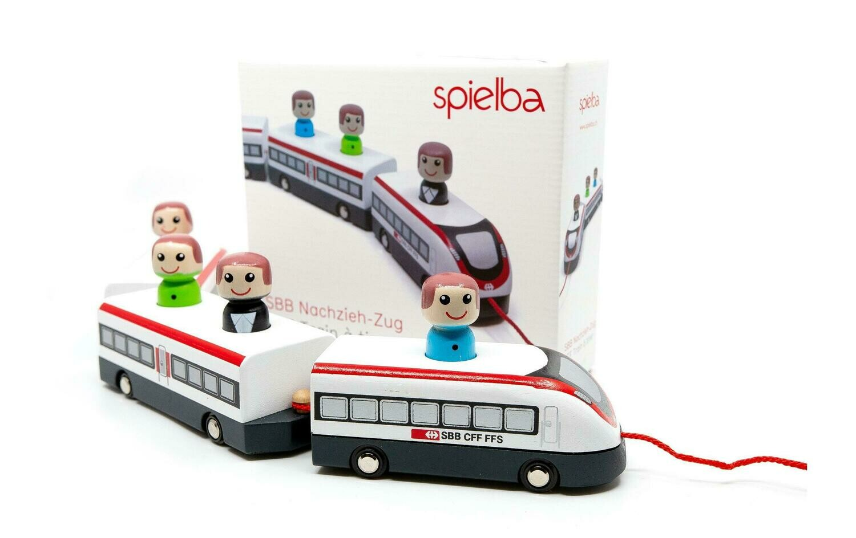 Train CFF en bois Spielba