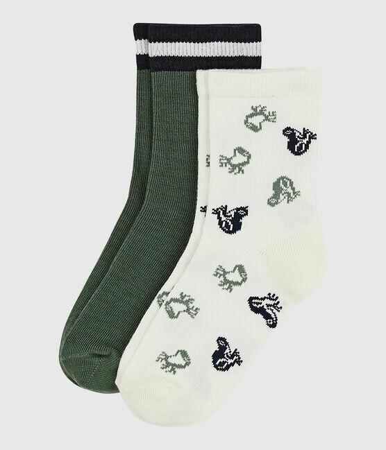 2 paires de chaussettes Petit Bateau