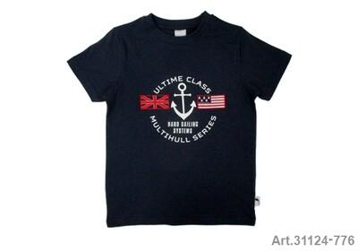 Tee shirt marine imprimé Ultime Class Stummer