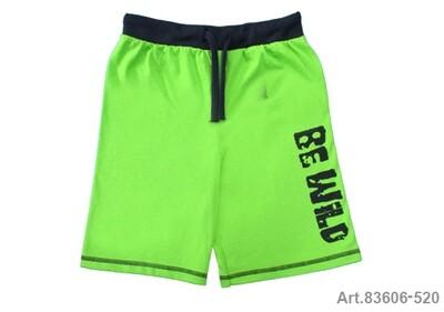 Short jersey vert pomme Be Wild