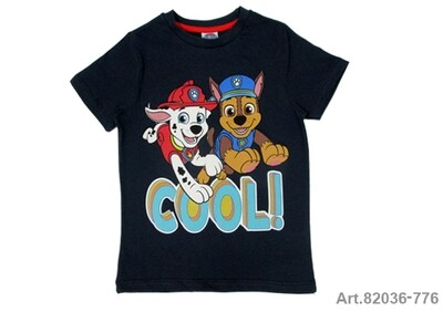 Tee shirt marine Paw Patrol Cool