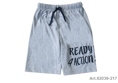 Short gris Ready 4 Action jersey