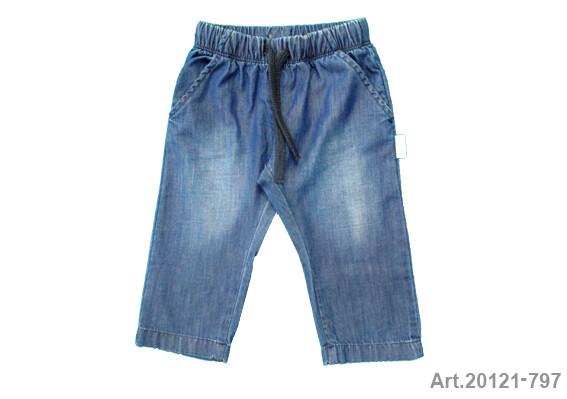 Jeans fille taille élastique Stummer