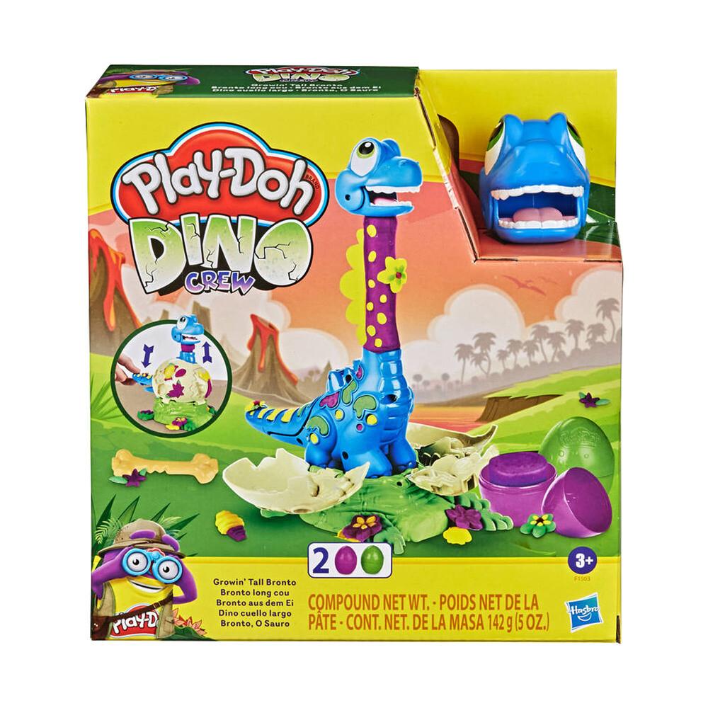 Play-Doh l'équipage Dino Bronto sort de l'Oeuf