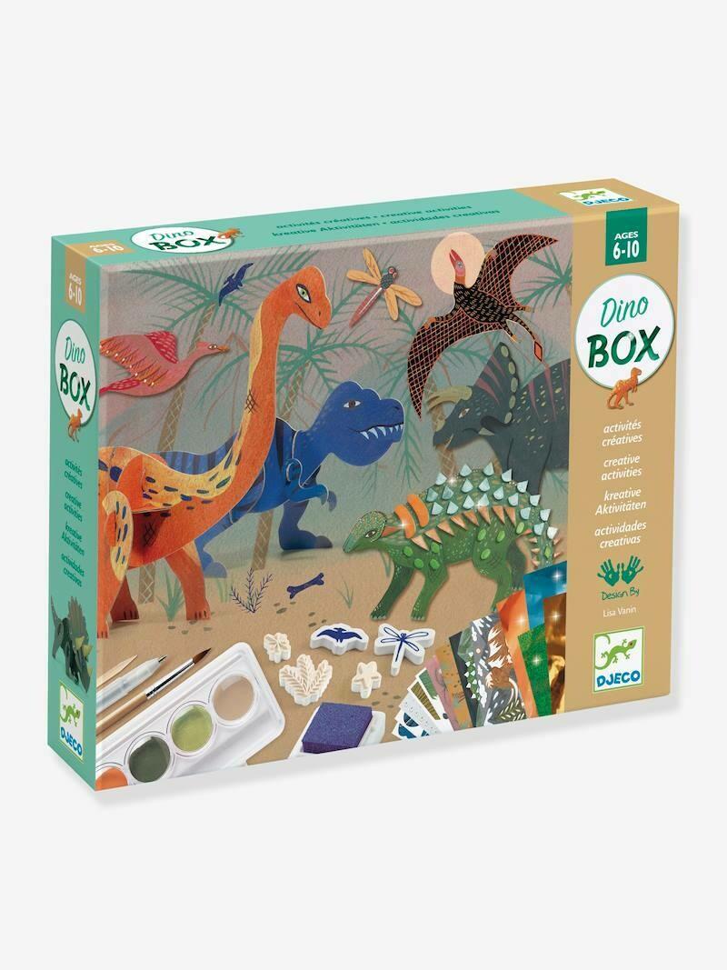Dino Box, activités créatives Djeco