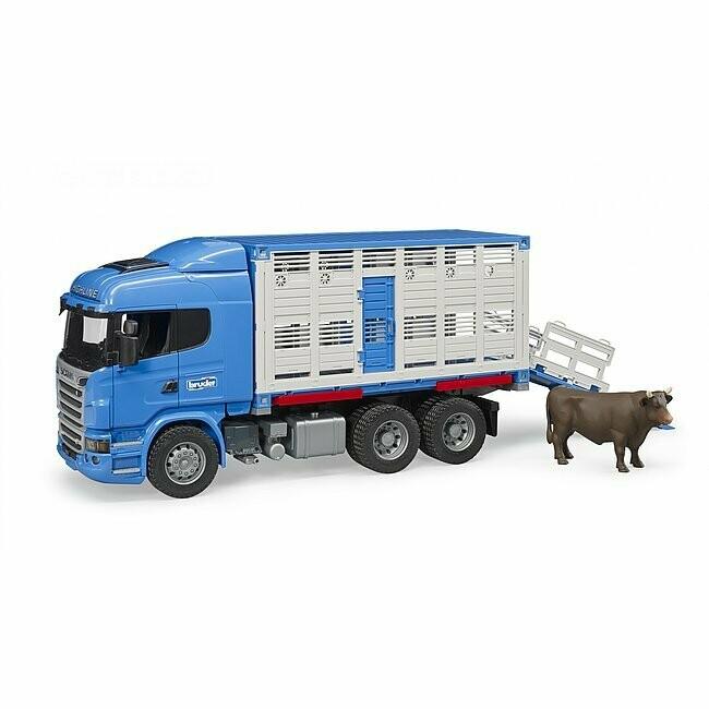 Camion de transport d'animaux Scania série R Brüder