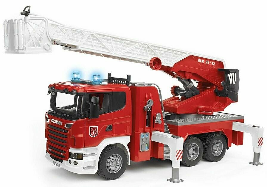 Camion de pompier Série R Scania avec pompe à eau