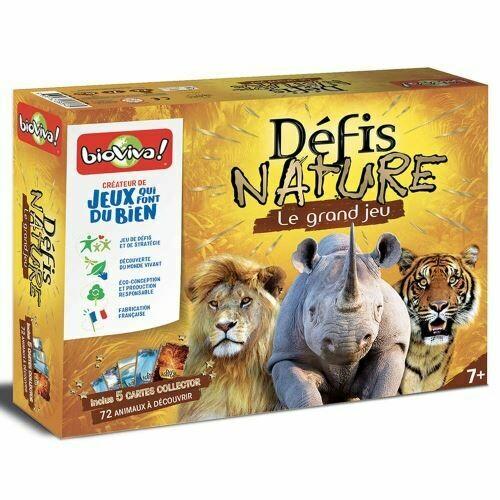 Bioviva Défis Nature le grand jeu