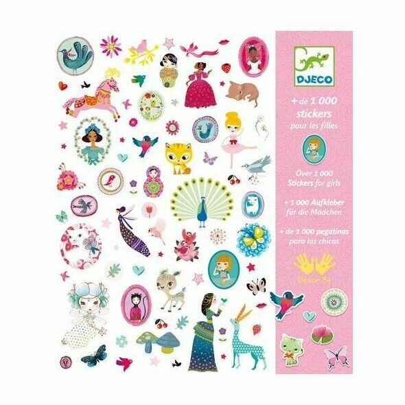 1000 stickers Djeco
