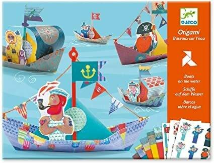 Origami Bateaux sur l'eau Djeco