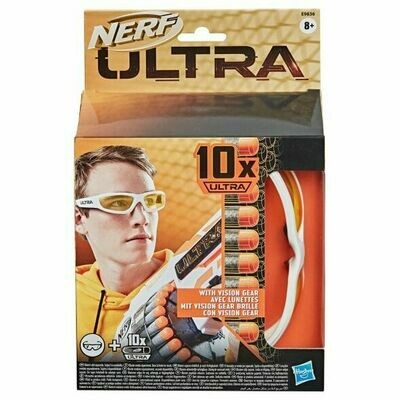 Nerf Ultra 10 recharges  avec lunette