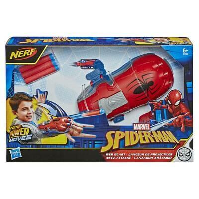 Nerf Spiderman lance fléchettes Marvel