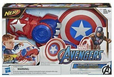 Nerf Captain America lanceur de bouclier Avengers