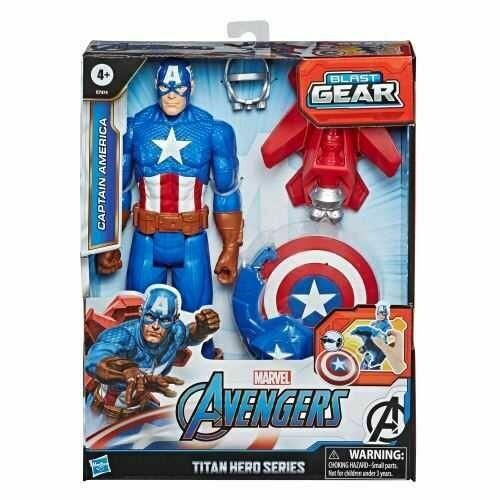 Avengers Captain America Titan Hero Series