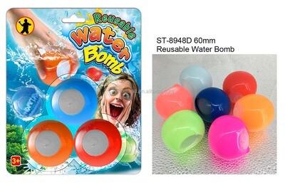 Bombes à eau réutilisable 3 pièces