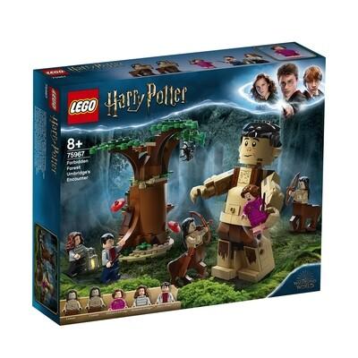 Lego Harry Potter la forêt interdite: la rencontre d'Ombrage