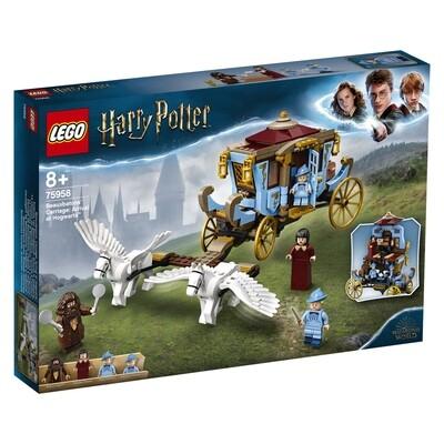 Lego Harry Potter le carrosse de Beauxbâtons: l'arrivée à Poudlard