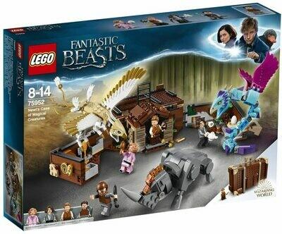 Lego Harry Potter la Vallée des Animaux fantastiques de Norbert