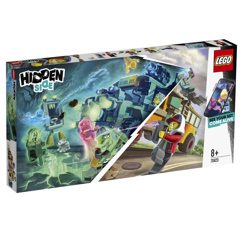 Lego Hidden Side le bus scolaire paranormal