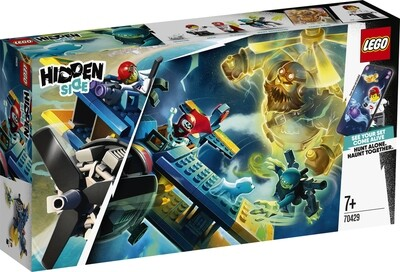 Lego Hidden Side l'avion de voltige d'El Fuego