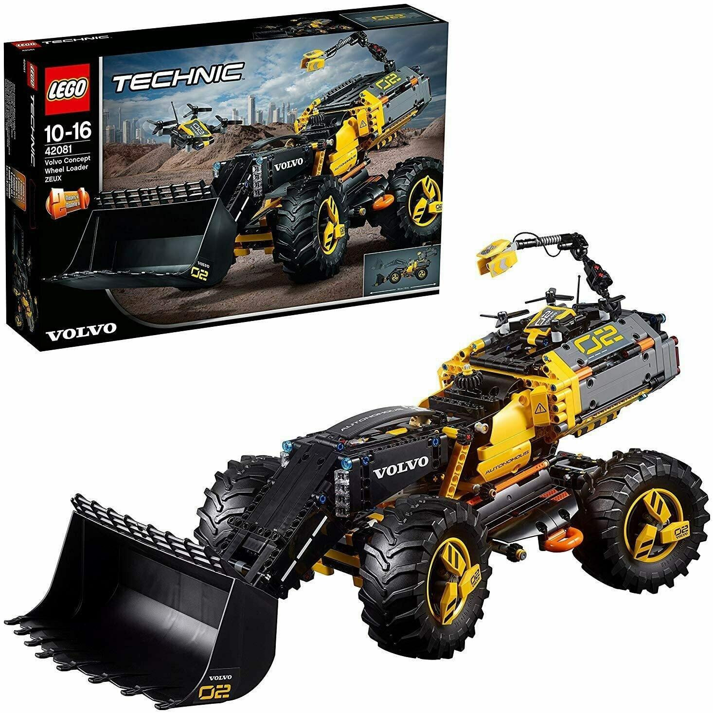 Lego Technic le tractopelle Volvo concept ZEUX