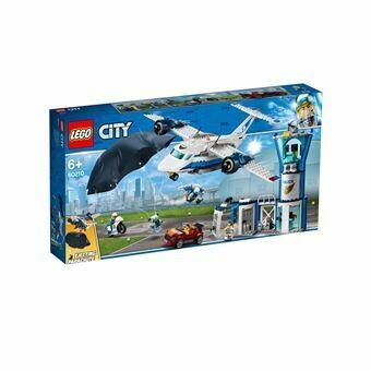 Lego City la base aérienne de la police