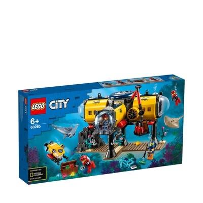 Lego City la base d'exploration océanique