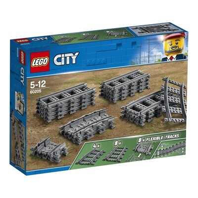 Lego City rails