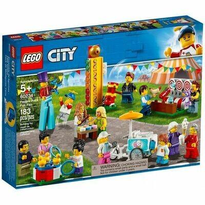 Lego City figurines de la fête foraine